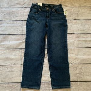 Style and Co curvy boyfriend mid rise jeans